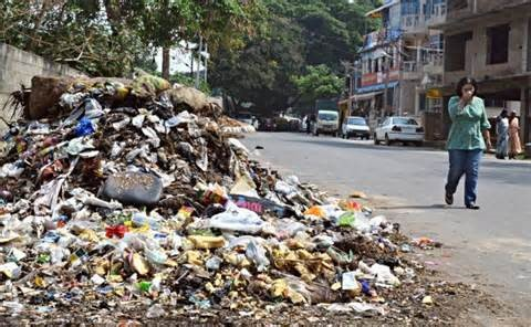 Effets of improper garbage in tambacan